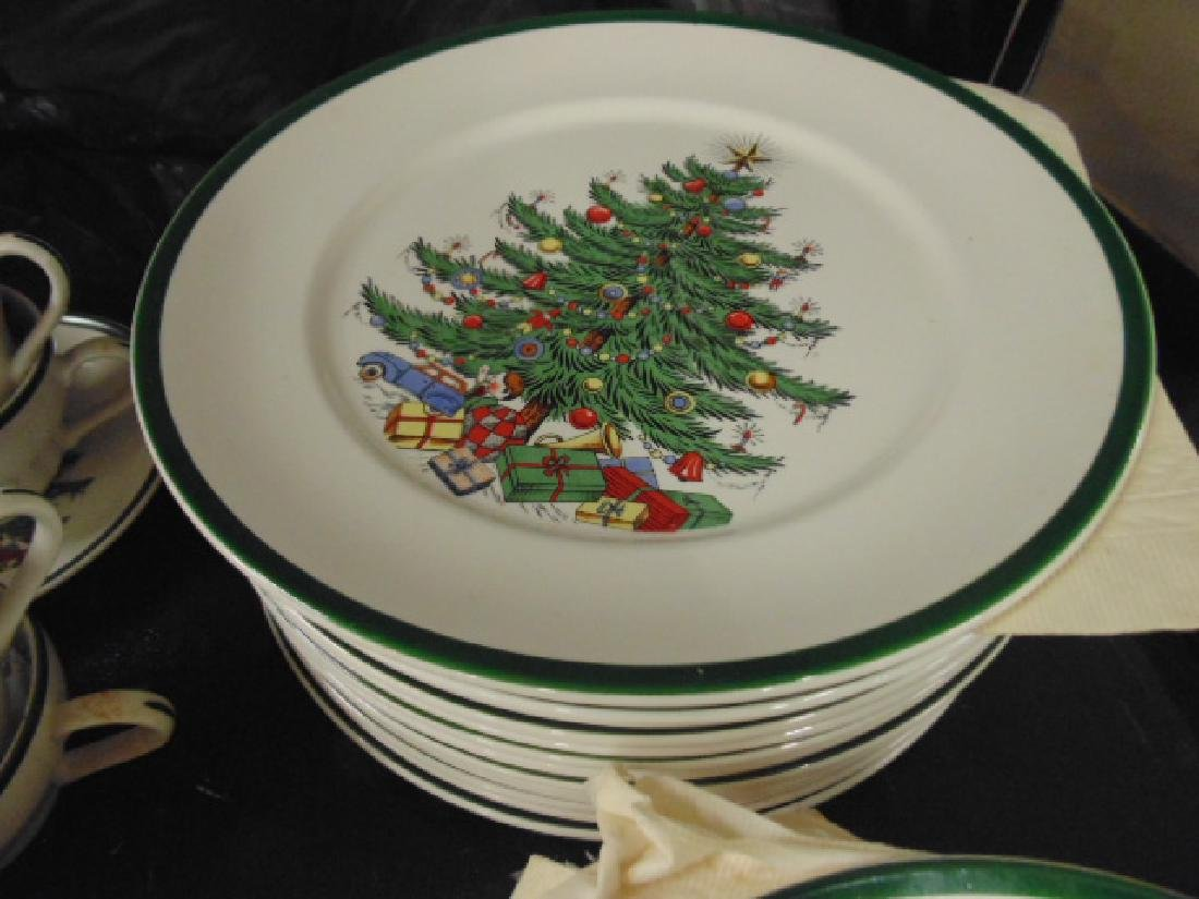 Christmas dinnerware, Lord Nelson for Cuthbertson House - 3
