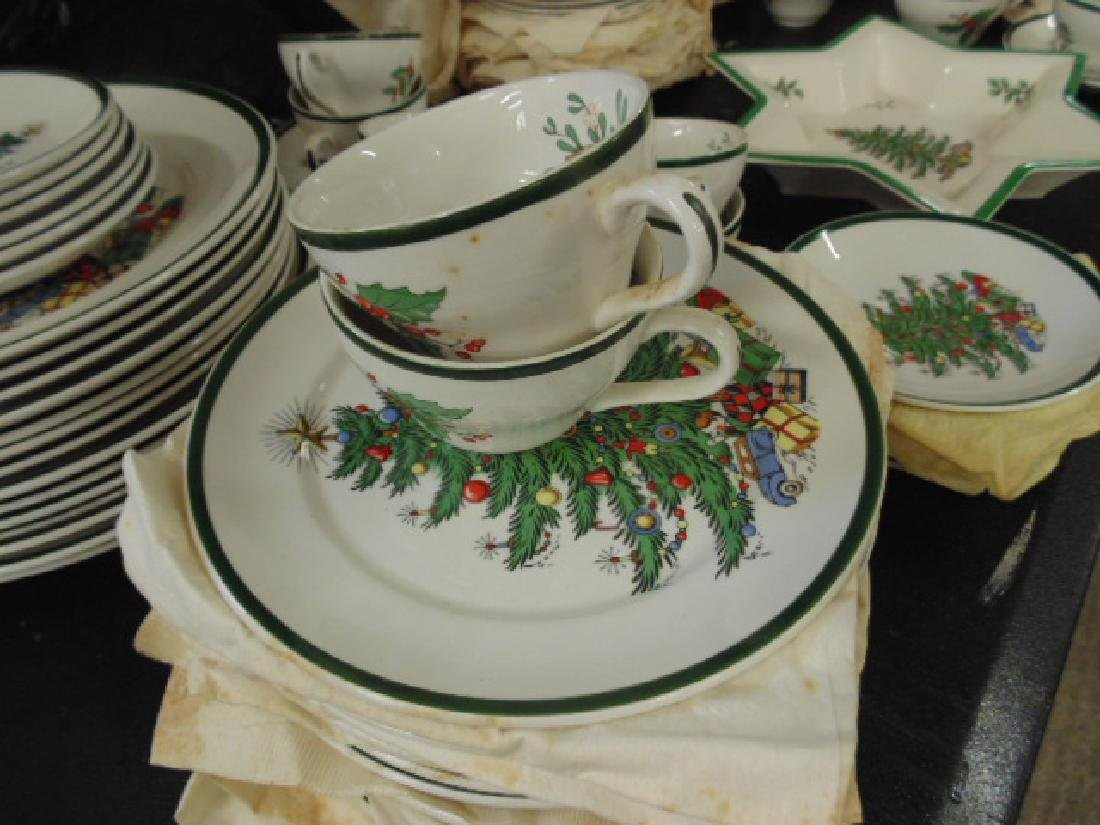 Christmas dinnerware, Lord Nelson for Cuthbertson House - 5