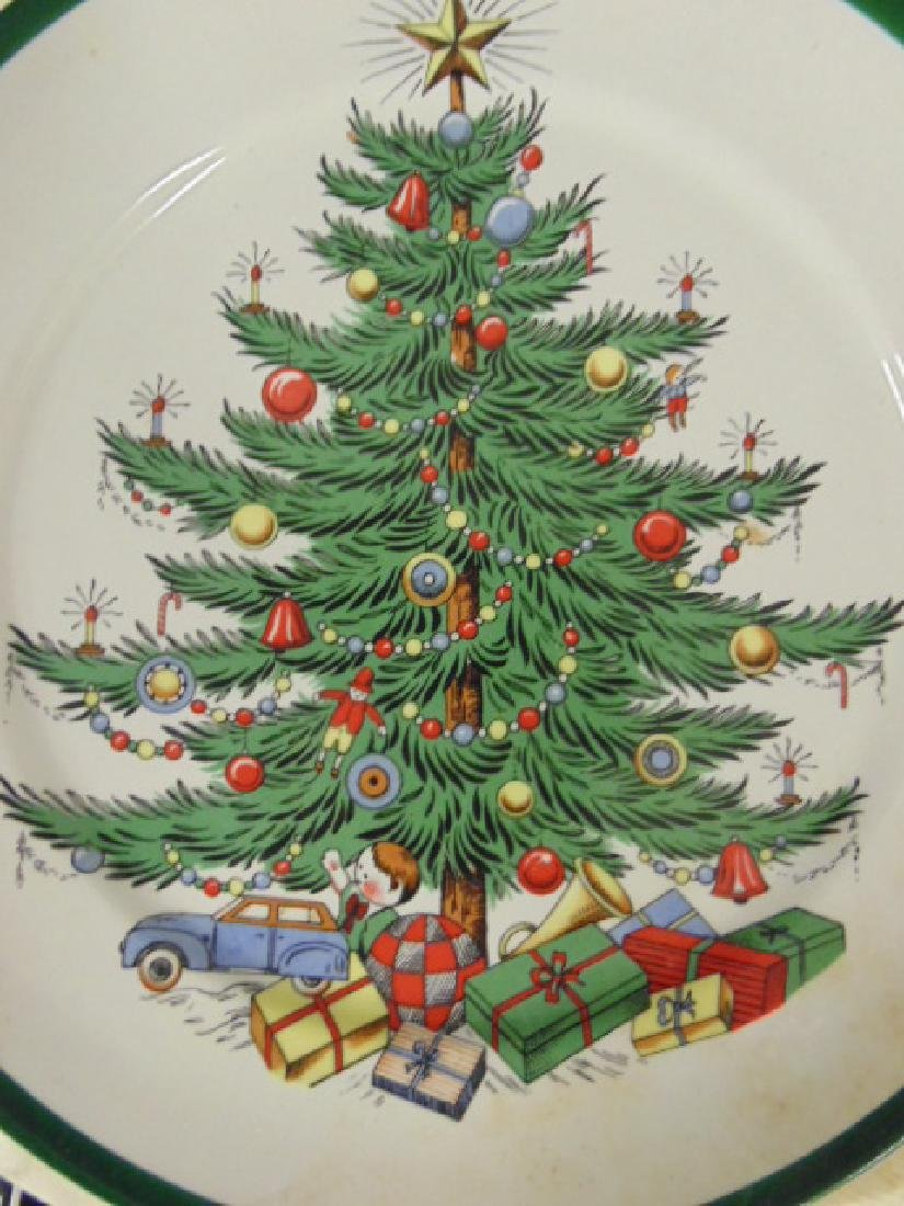 Christmas dinnerware, Lord Nelson for Cuthbertson House - 6