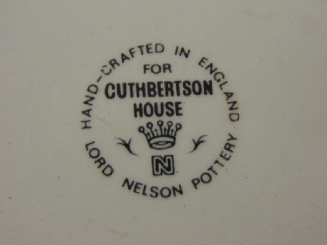 Christmas dinnerware, Lord Nelson for Cuthbertson House - 7