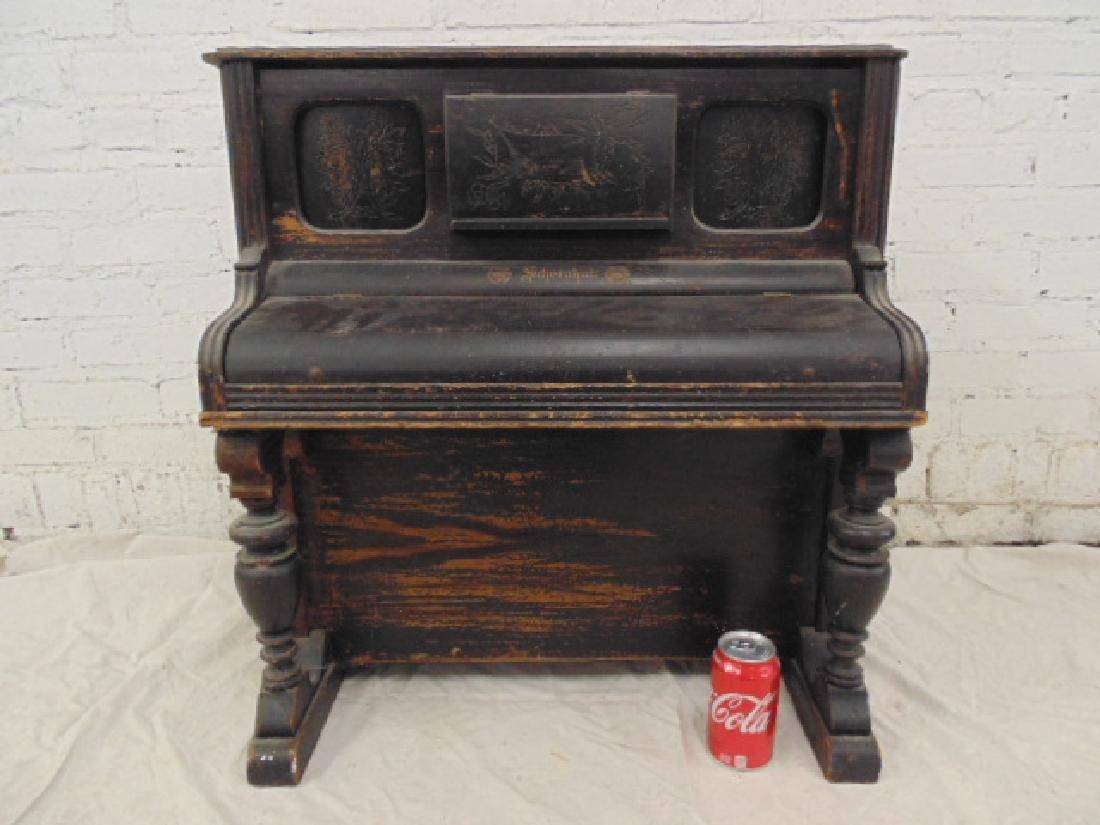 Schoenhut child's sized upright toy piano