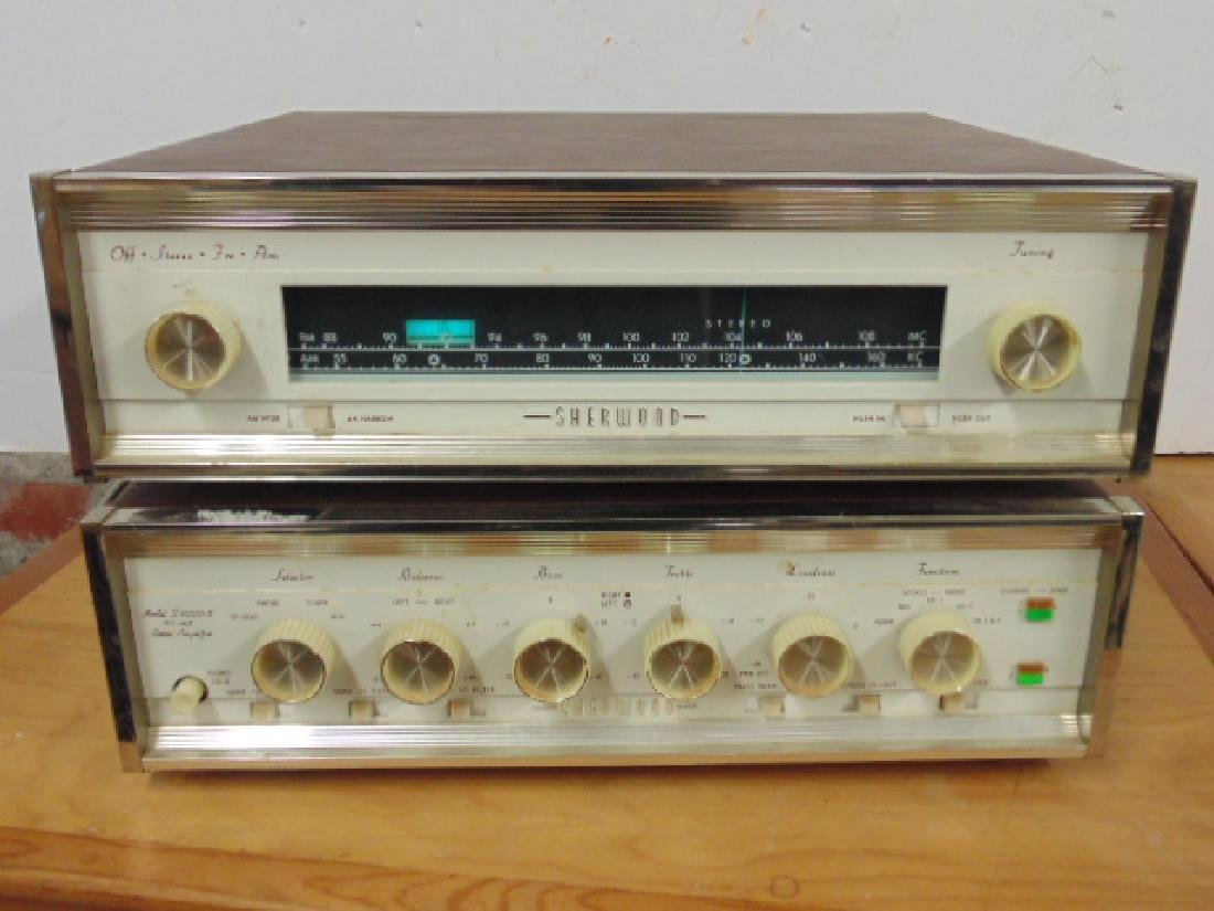 Sherwood S2100 and S5000II 80W stereo amp