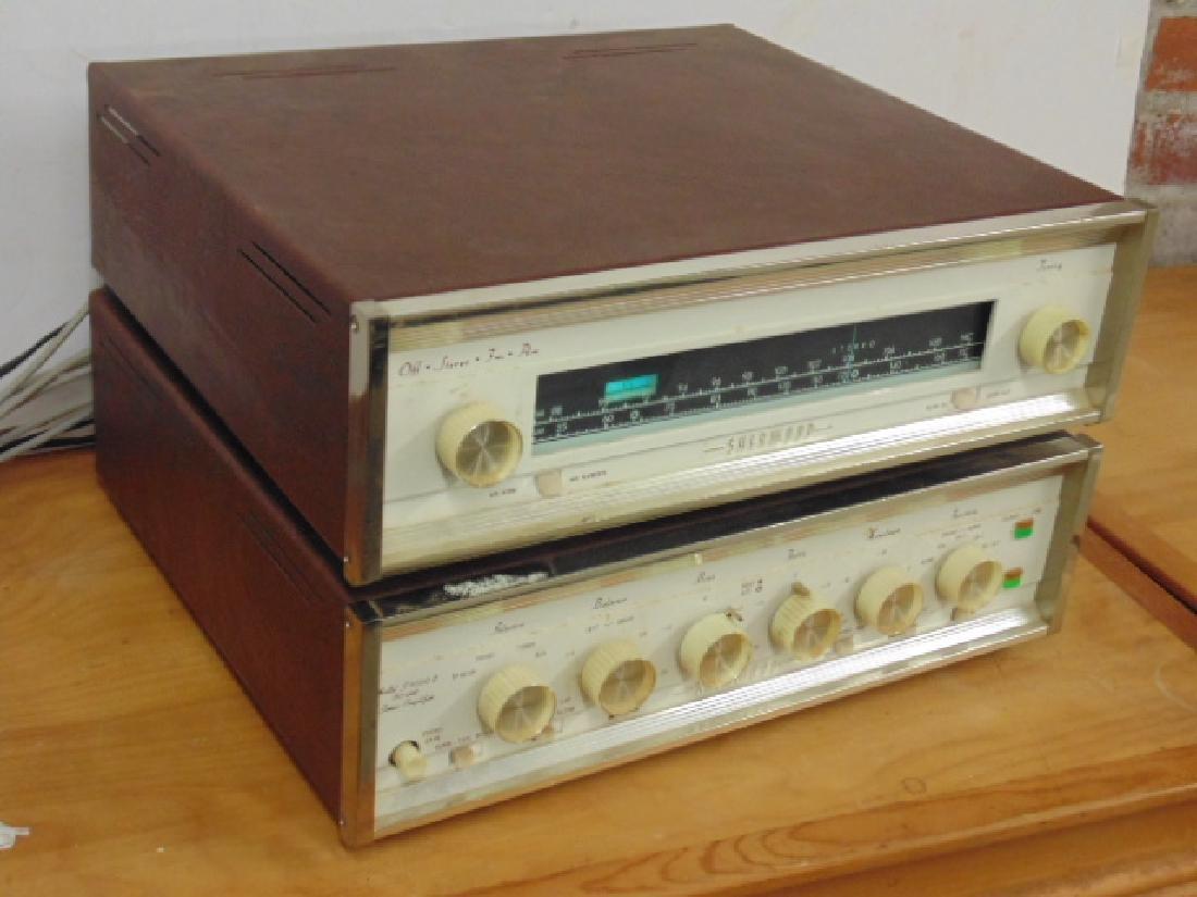 Sherwood S2100 and S5000II 80W stereo amp - 2