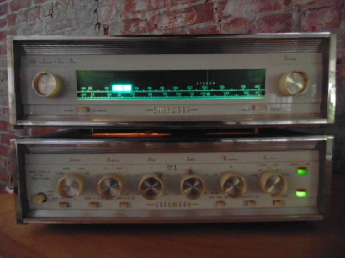 Sherwood S2100 and S5000II 80W stereo amp - 3