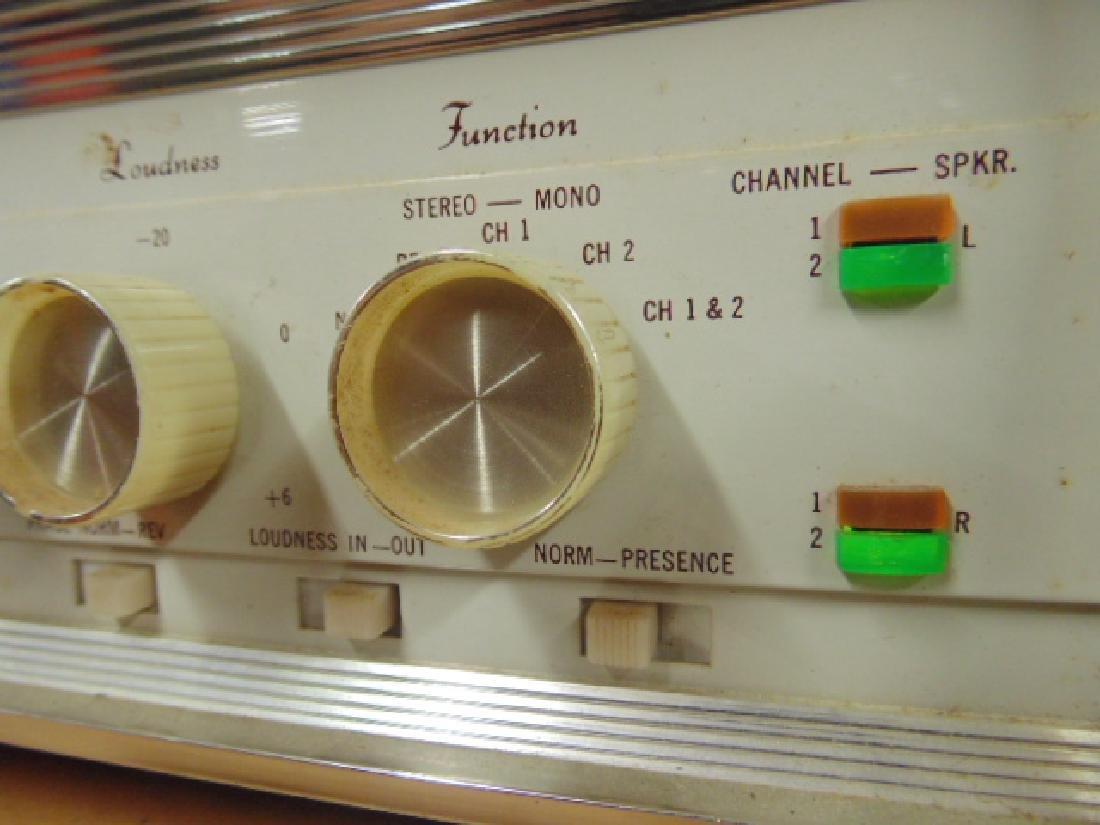 Sherwood S2100 and S5000II 80W stereo amp - 4