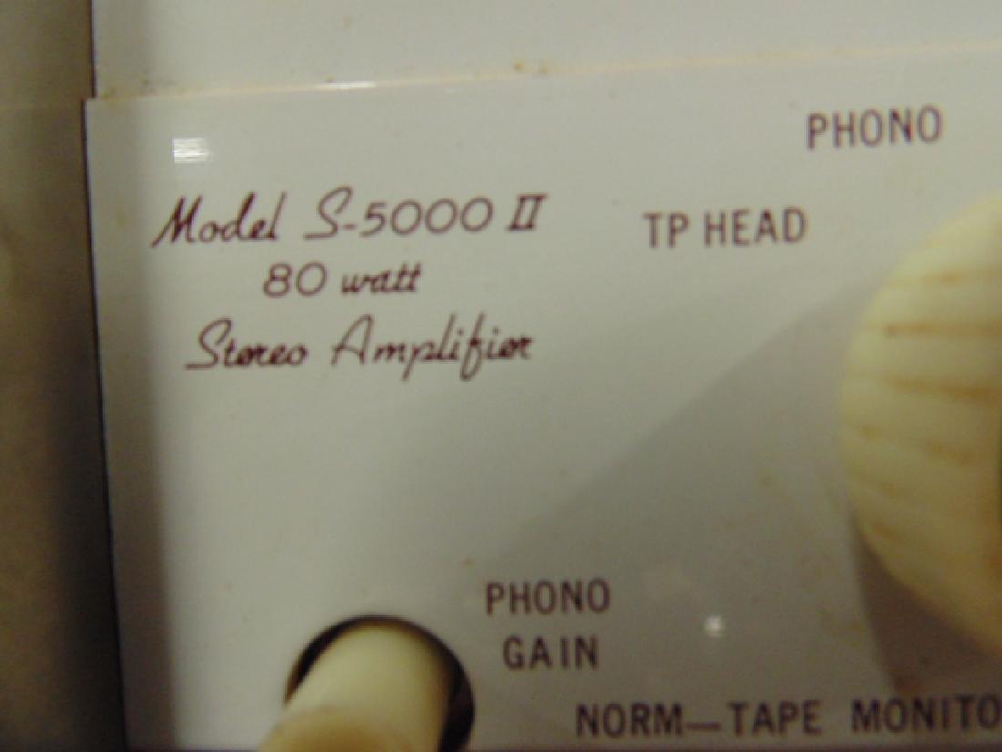 Sherwood S2100 and S5000II 80W stereo amp - 5