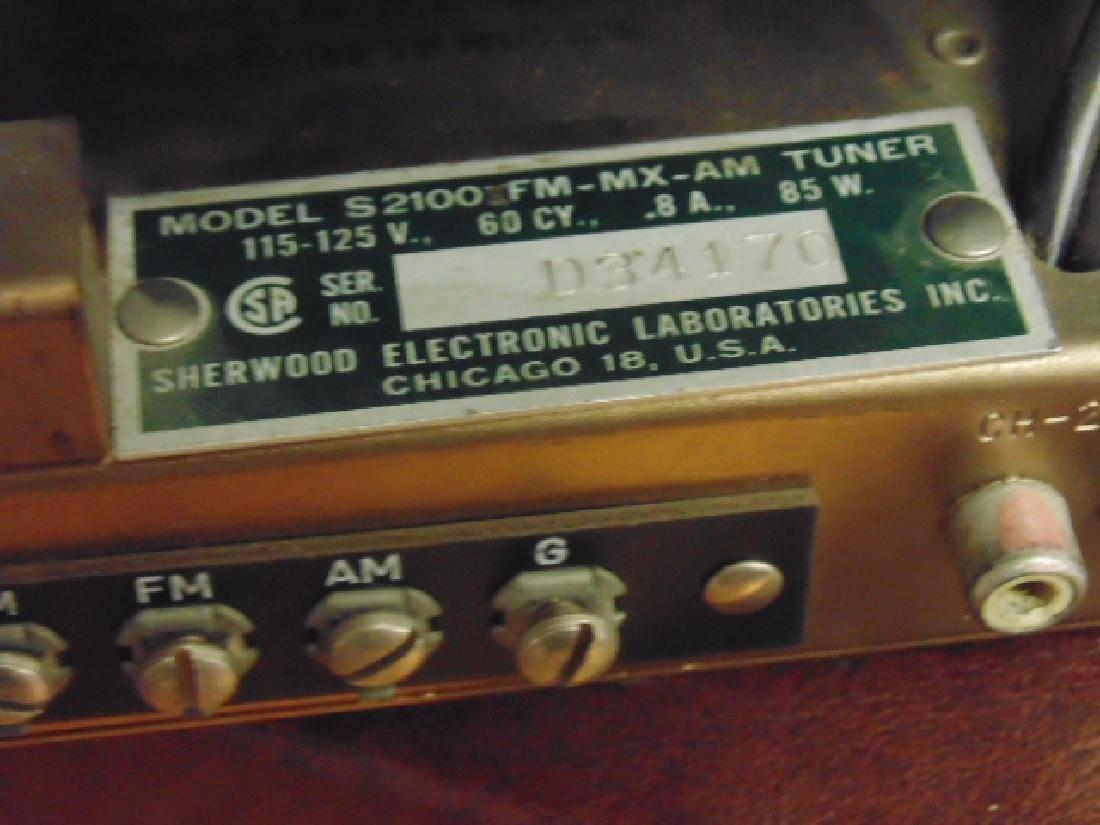 Sherwood S2100 and S5000II 80W stereo amp - 7