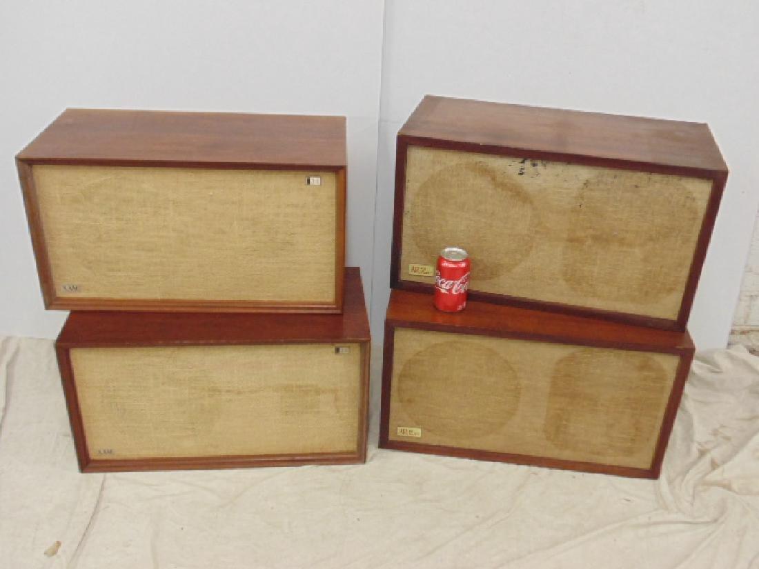 Pair AR 2ax acoustic & pair of XAM 3E loudspeakers,