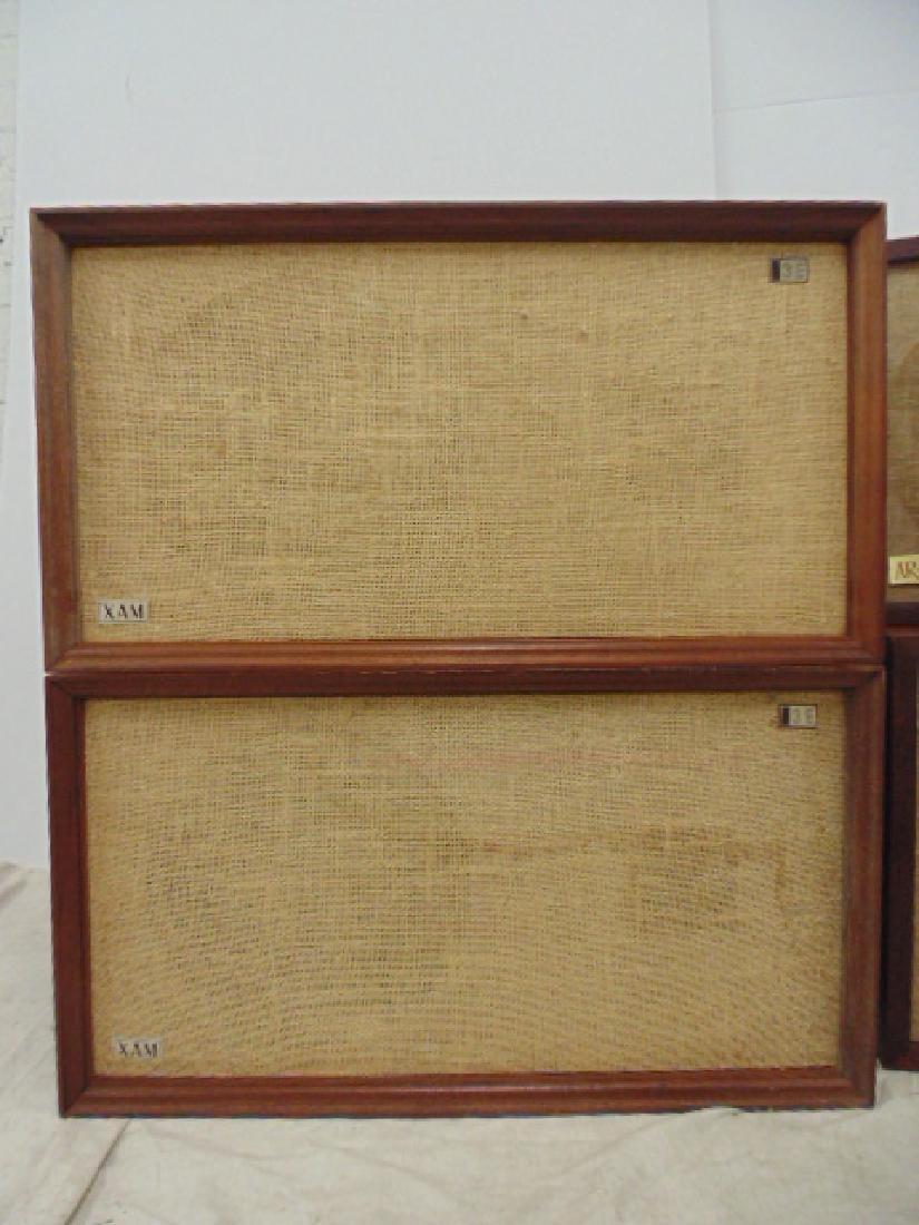 Pair AR 2ax acoustic & pair of XAM 3E loudspeakers, - 4