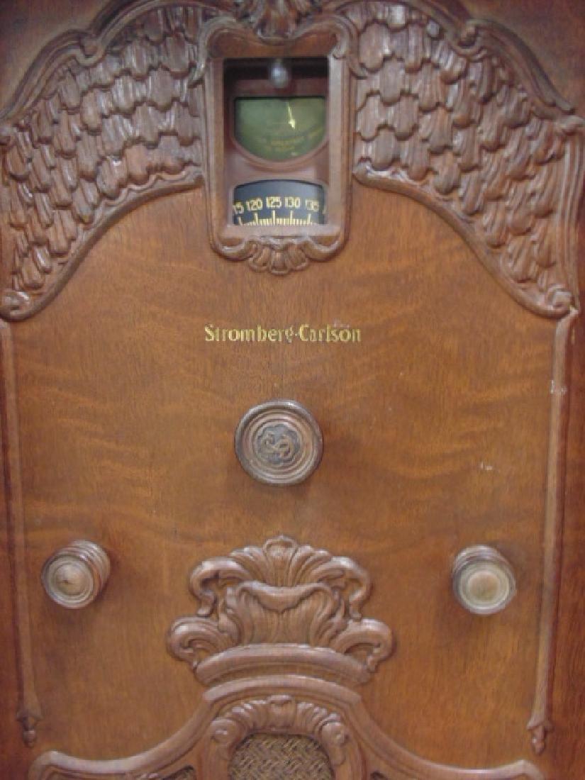 Stromberg & Carlson standing console radio - 2