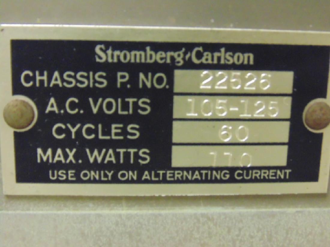 Stromberg & Carlson standing console radio - 7