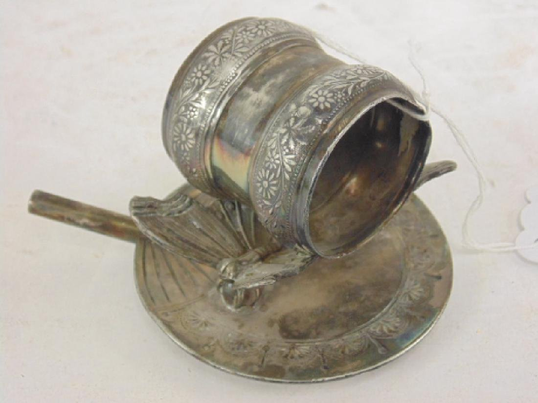Rogers silver plated Victorian napkin ring