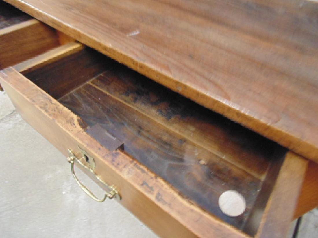 Antique French hutch, base cabinet with 2 drawers - 5