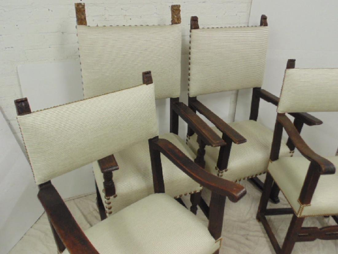 Lot 4 18th Century arm chairs - 2