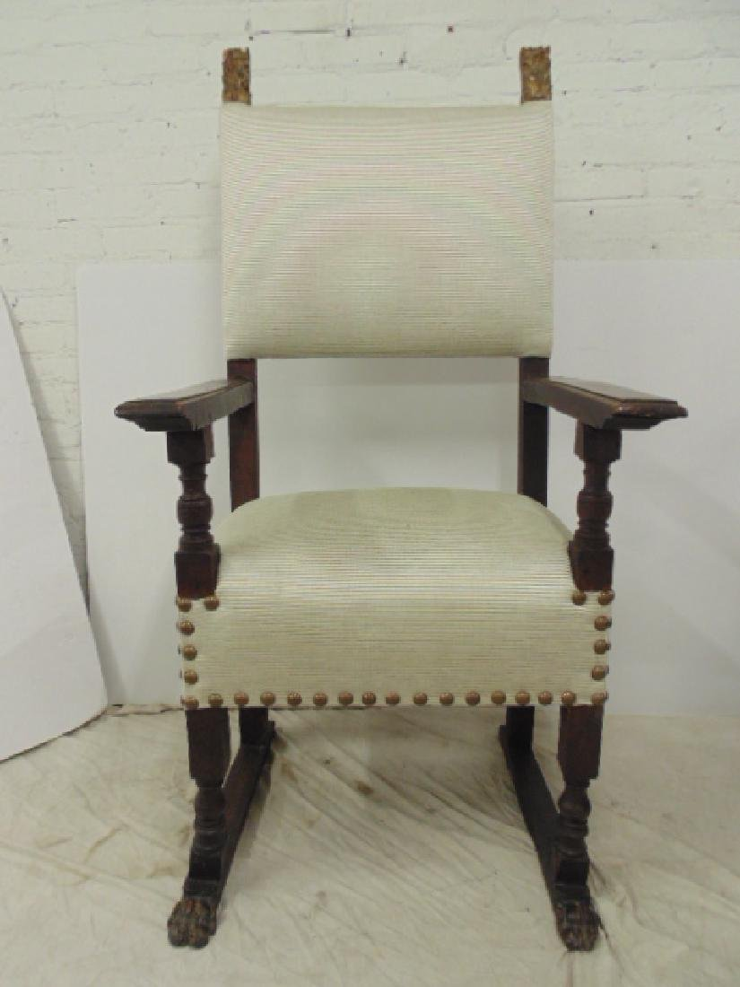 Lot 4 18th Century arm chairs - 3