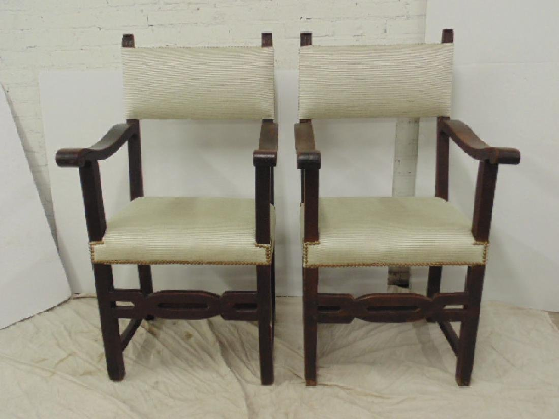 Lot 4 18th Century arm chairs - 7