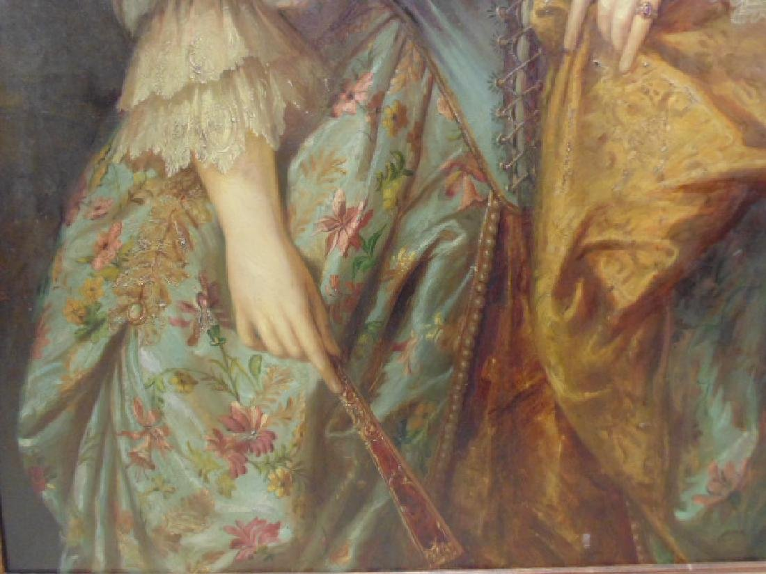 """Painting, """"portrait of a lady"""", after Gainsborough - 5"""
