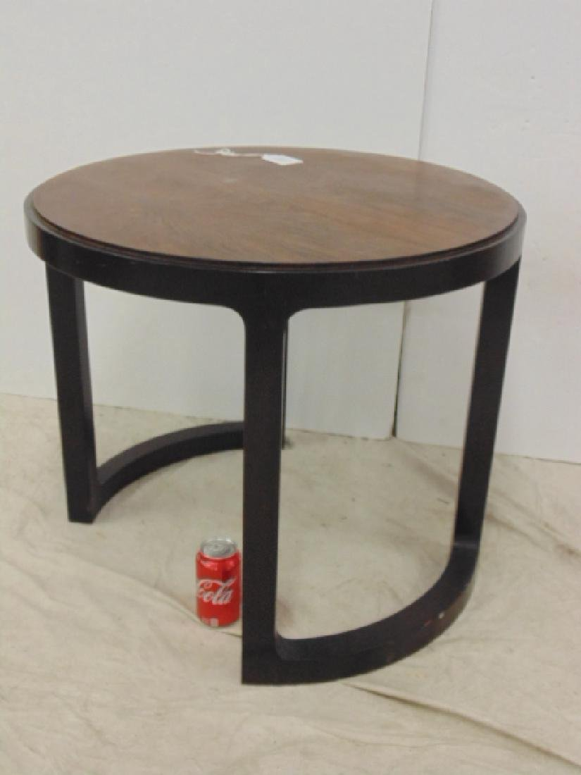 Round Mid Century side table by Dunbar - 2
