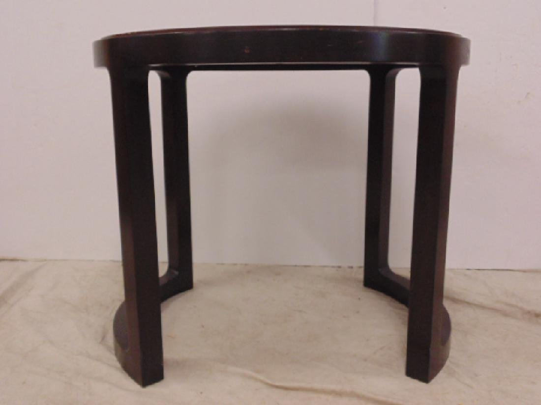 Round Mid Century side table by Dunbar - 4