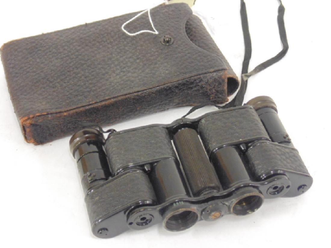 Stout, Negretti & Zambra folding binoculars