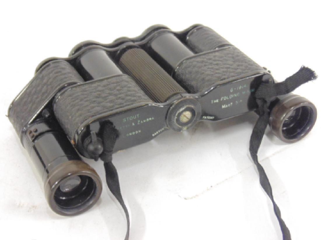 Stout, Negretti & Zambra folding binoculars - 3