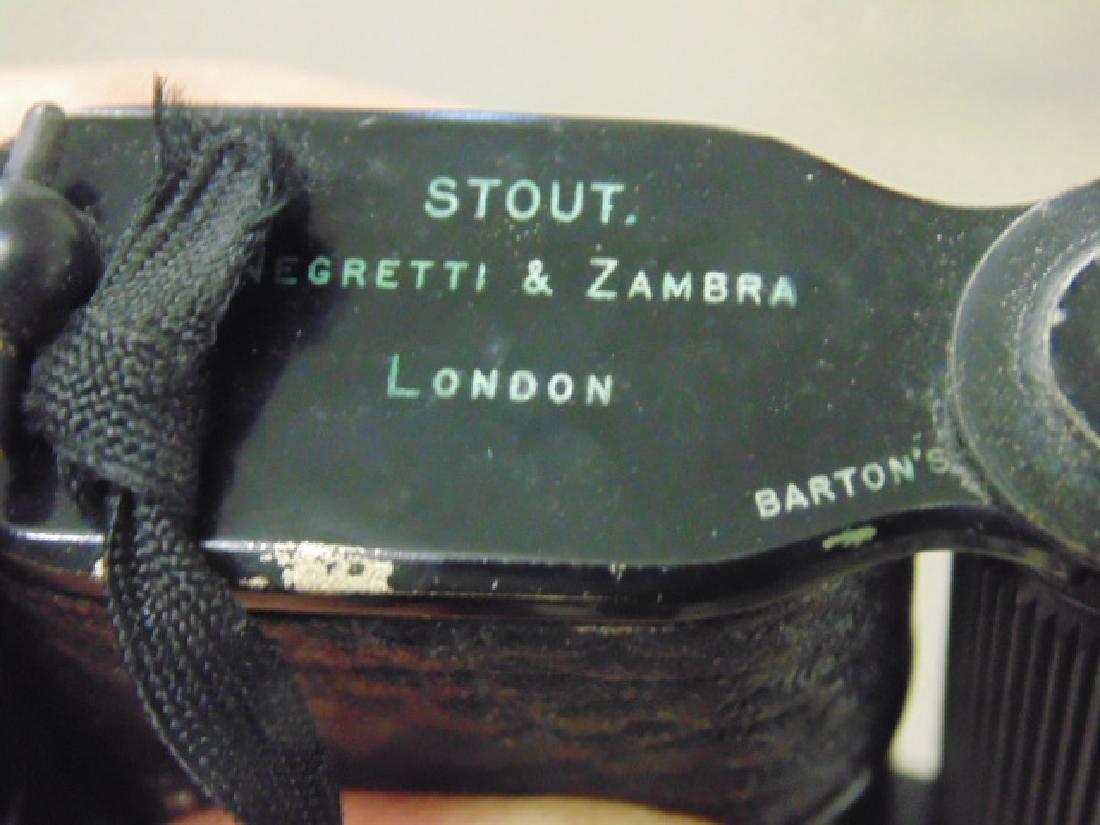 Stout, Negretti & Zambra folding binoculars - 4