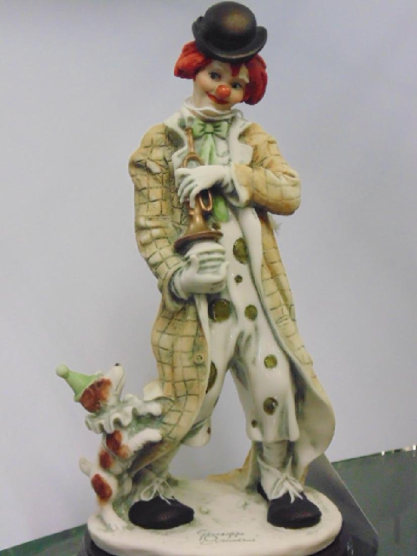3 Giuseppi Armani clown figurines - 3