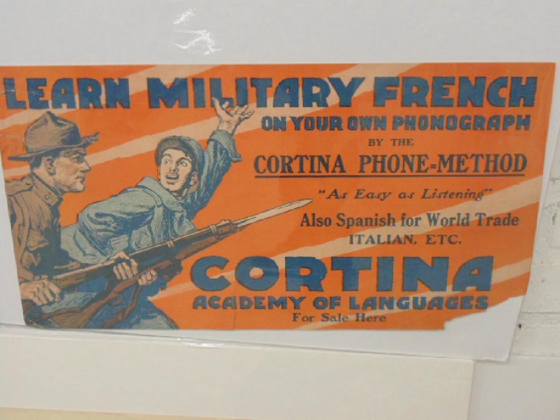 Lot vintage WW1 & WW2 posters - 3