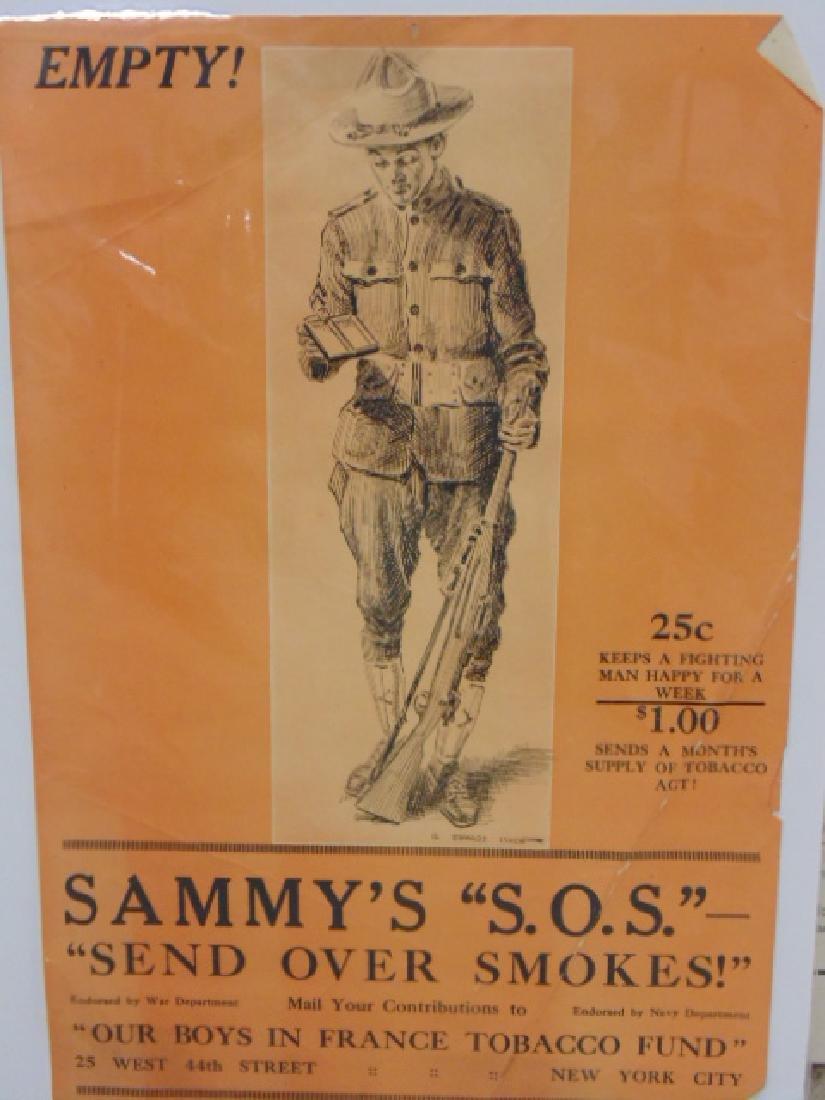 Lot vintage WW1 & WW2 posters - 5