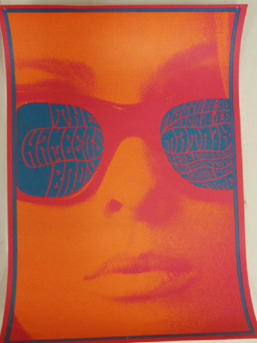 3 pop art posters, 1960's by Victor Moscoso - 3