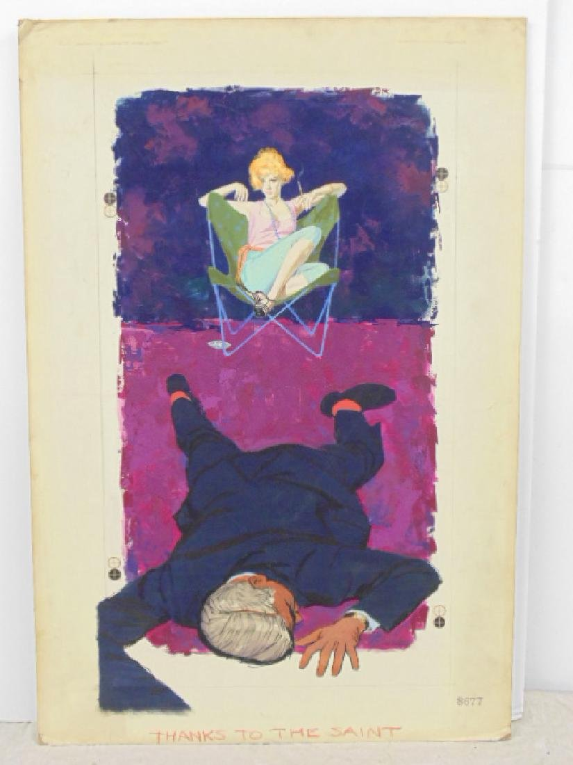 "Illustration, estate of Darrel Greene, ""Thanks to the"