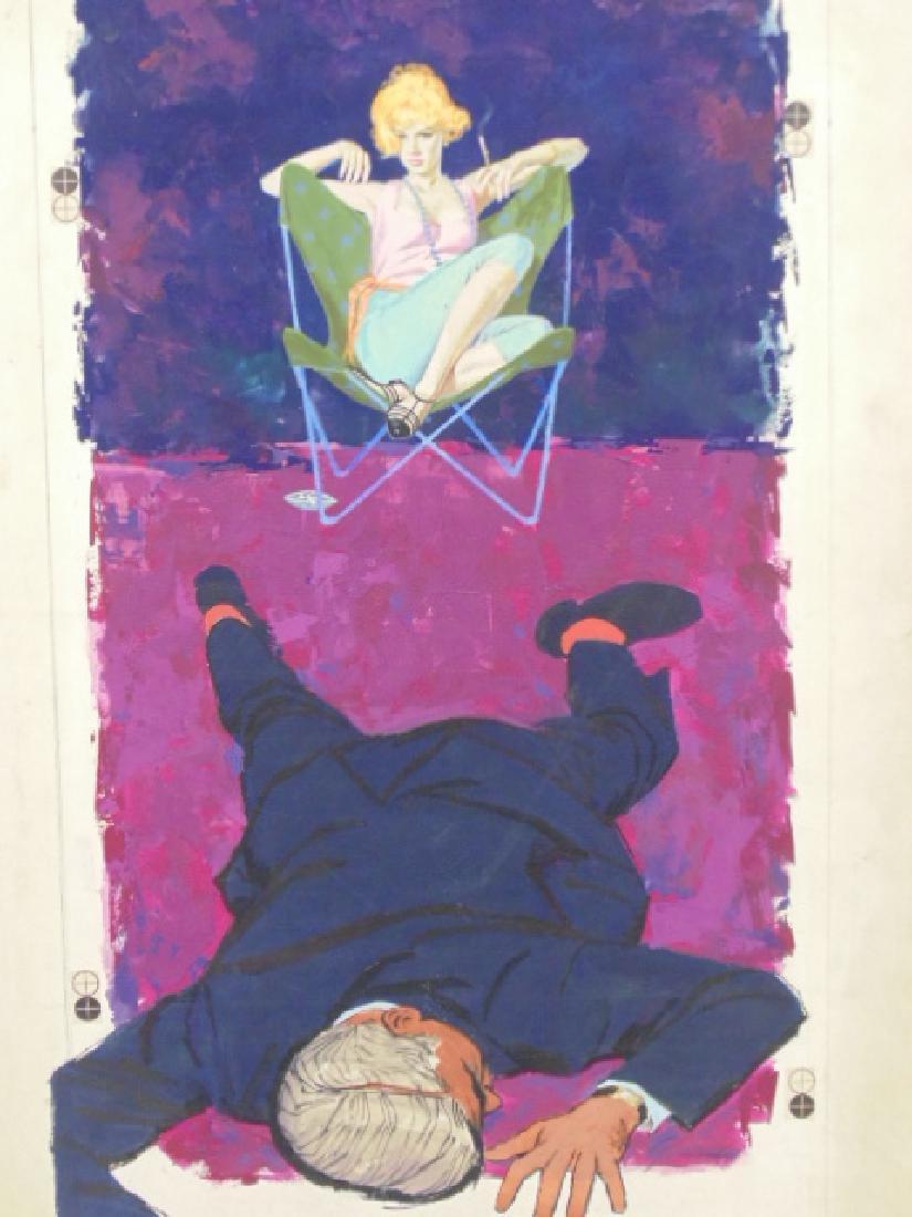 "Illustration, estate of Darrel Greene, ""Thanks to the - 2"