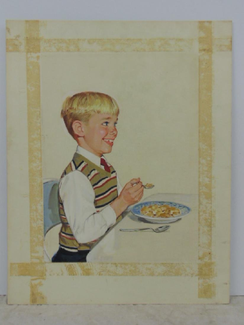 "Illustration, estate of Darrel Greene, ""Boy with"