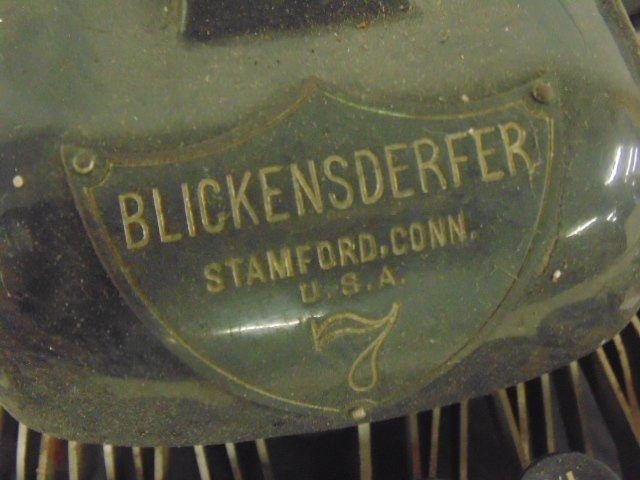 2 early typewriters by Blickensderfer, Stamford, CT, - 5