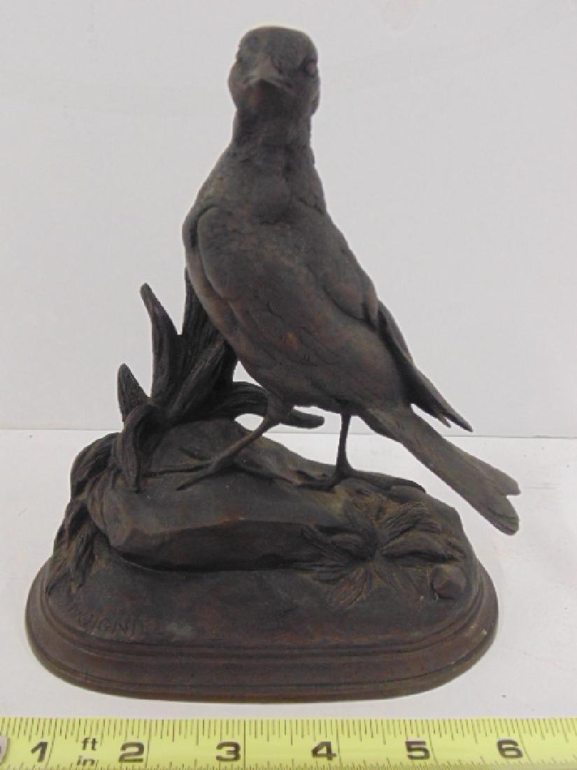 Bronze bird by Jules Moigniez