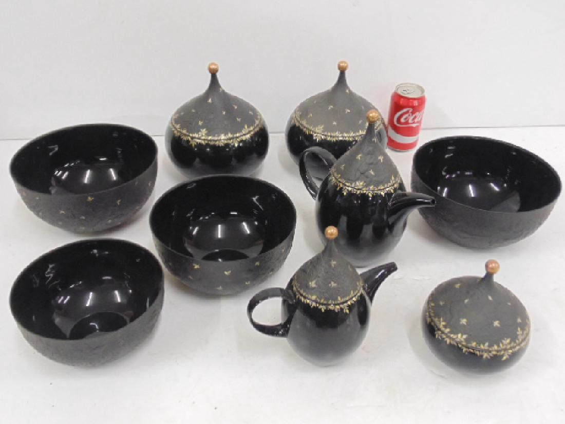 Set Magic Flute china, Rosenthal studio by Bjorn