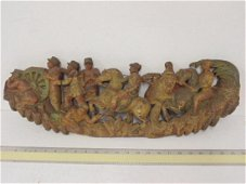 Chinese polychrome wood carving, Boxer rebellion