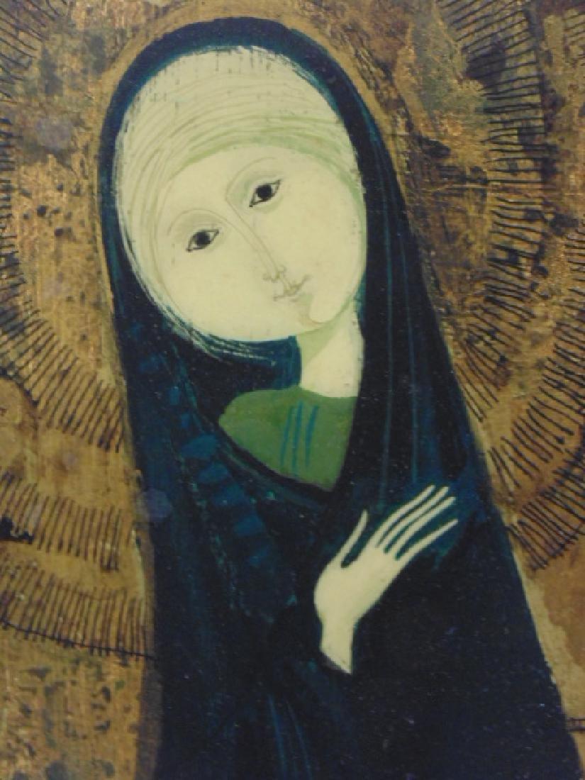 Mixed Media, Mary, by Lorenzo Burchiellaro & Xenia - 4