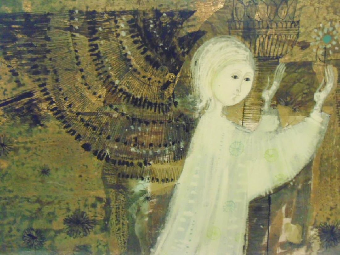 Mixed Media, Mary, by Lorenzo Burchiellaro & Xenia - 5