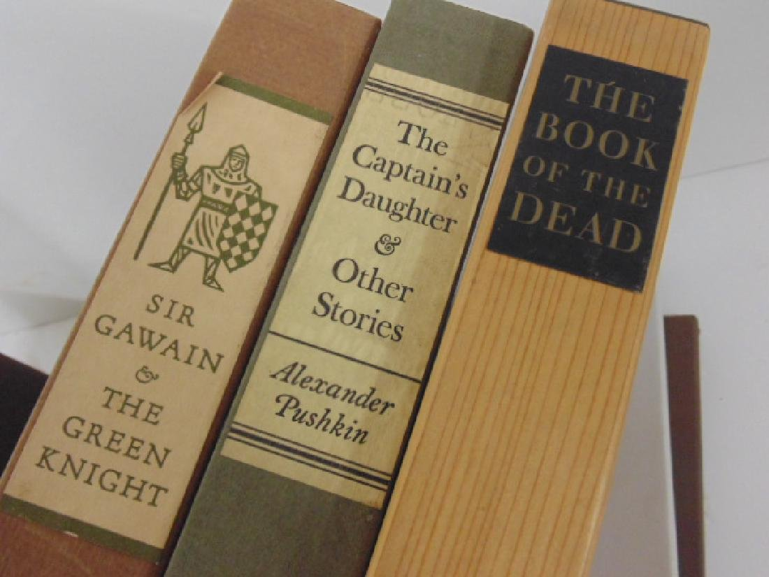 9 books from the Limited Editions club - 2