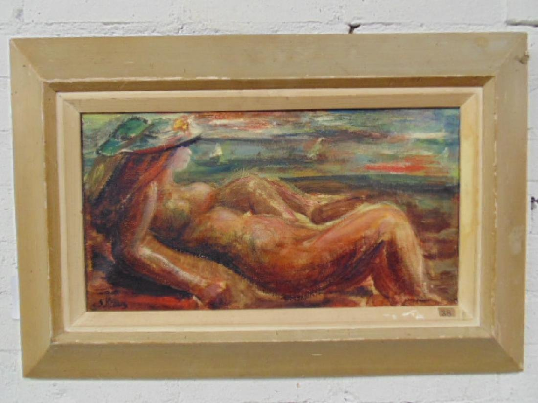 "Painting, ""We Look to Tomorrow"",Shirley Kraus, 1952"