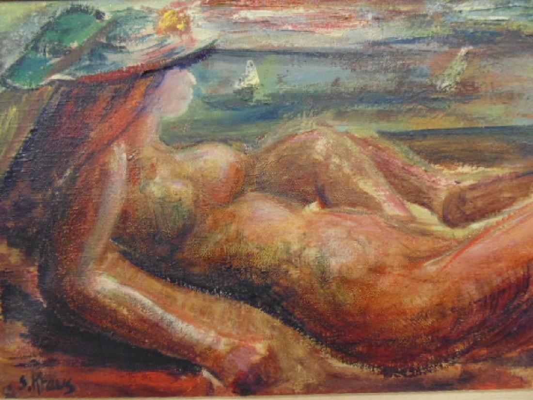 "Painting, ""We Look to Tomorrow"",Shirley Kraus, 1952 - 2"
