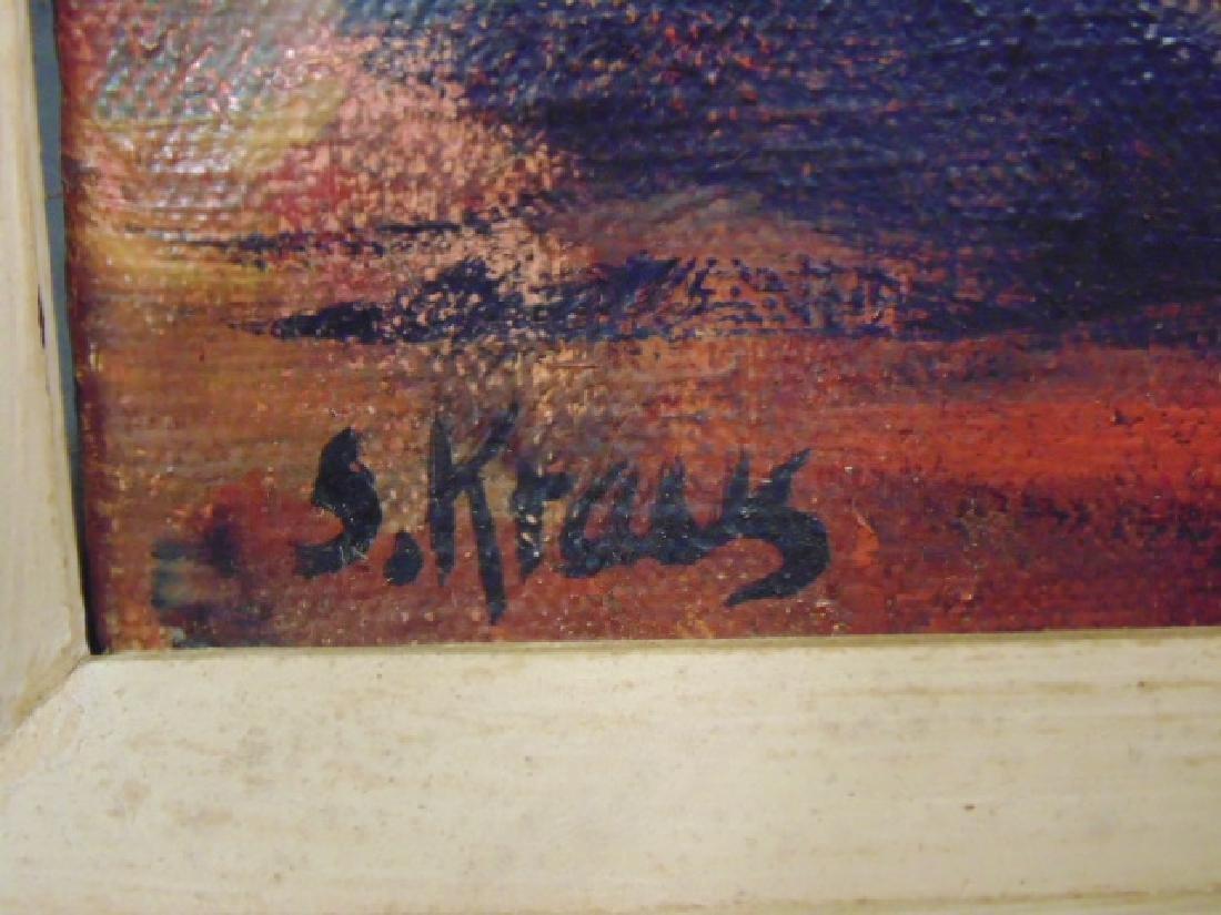 "Painting, ""We Look to Tomorrow"",Shirley Kraus, 1952 - 3"