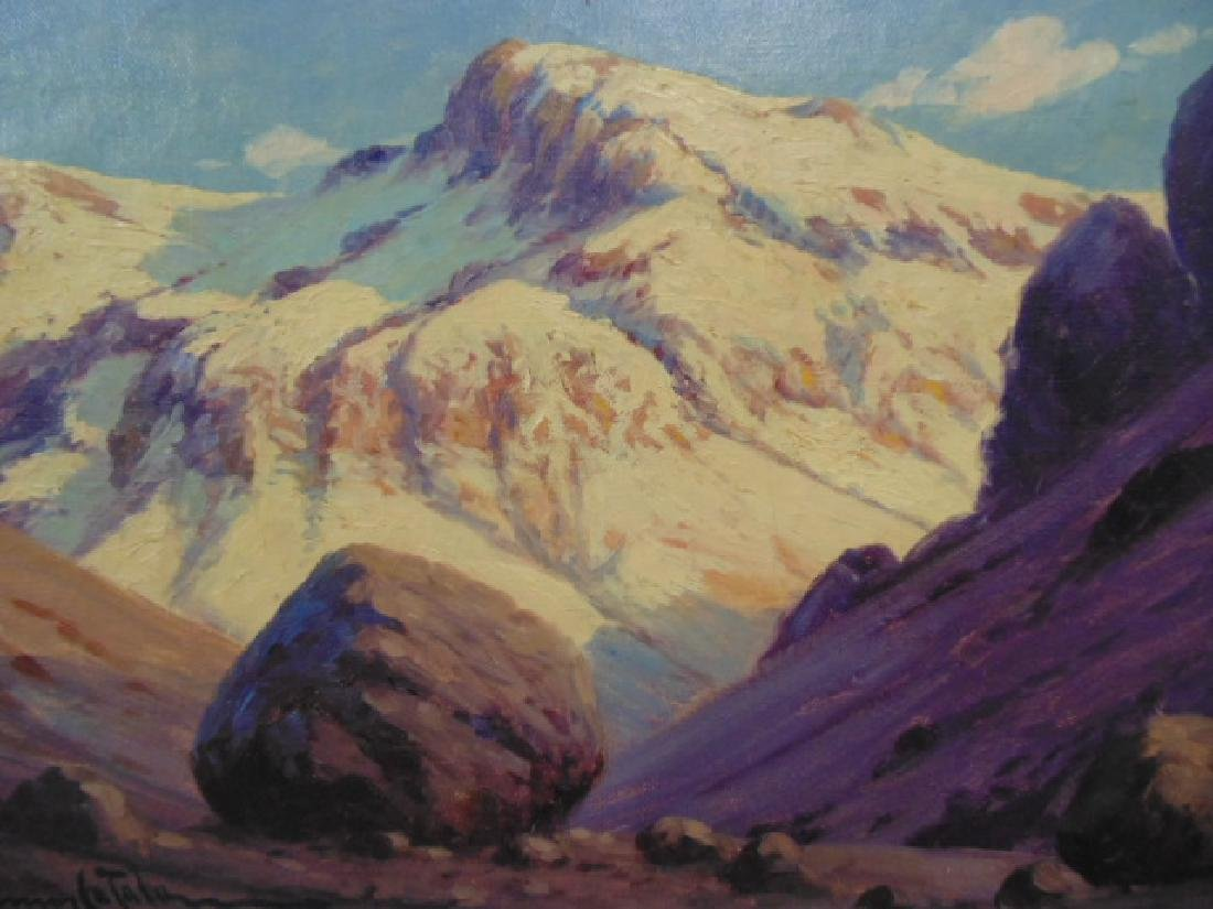 Painting, Mountain landscape, signed Ramos Catalan - 2