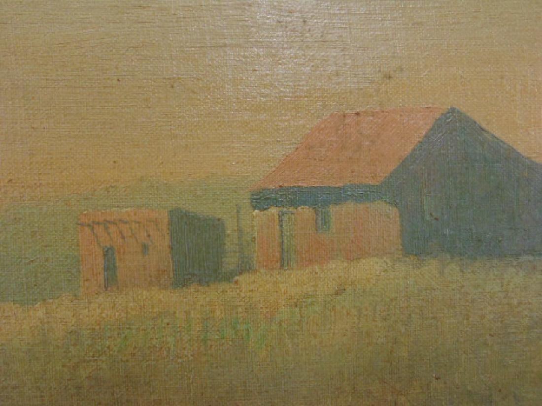"""Painting, """"Tumacacori, Arizona"""", signed Jack von Ryder - 3"""