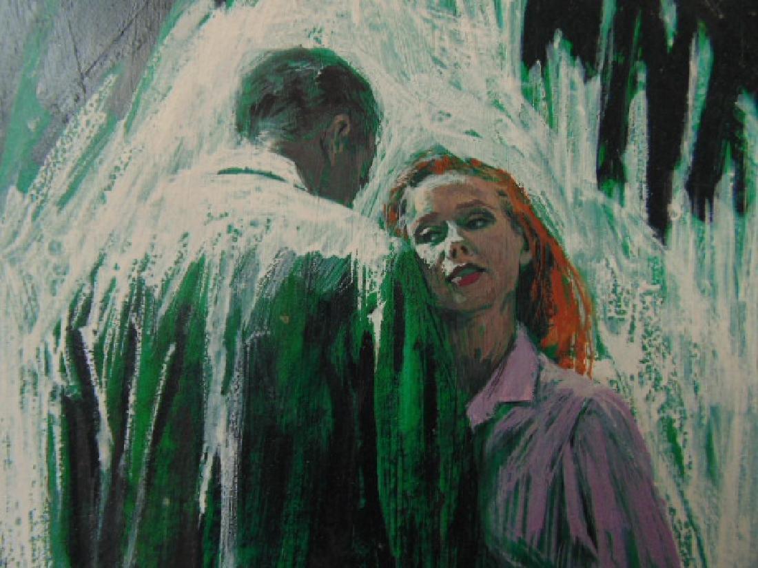 Illustration, Darrel Greene, man & woman, - 3
