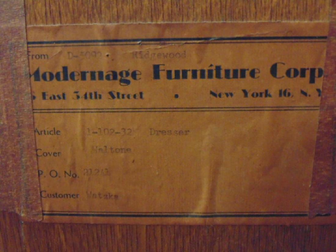 Mid Century Modernage Furniture Corp. credenza - 6