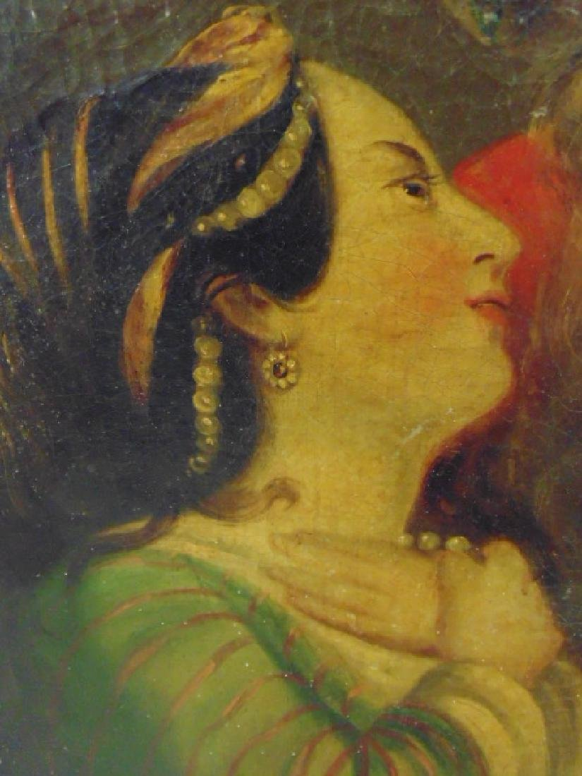 Painting, man and woman, Persian, unsigned - 4