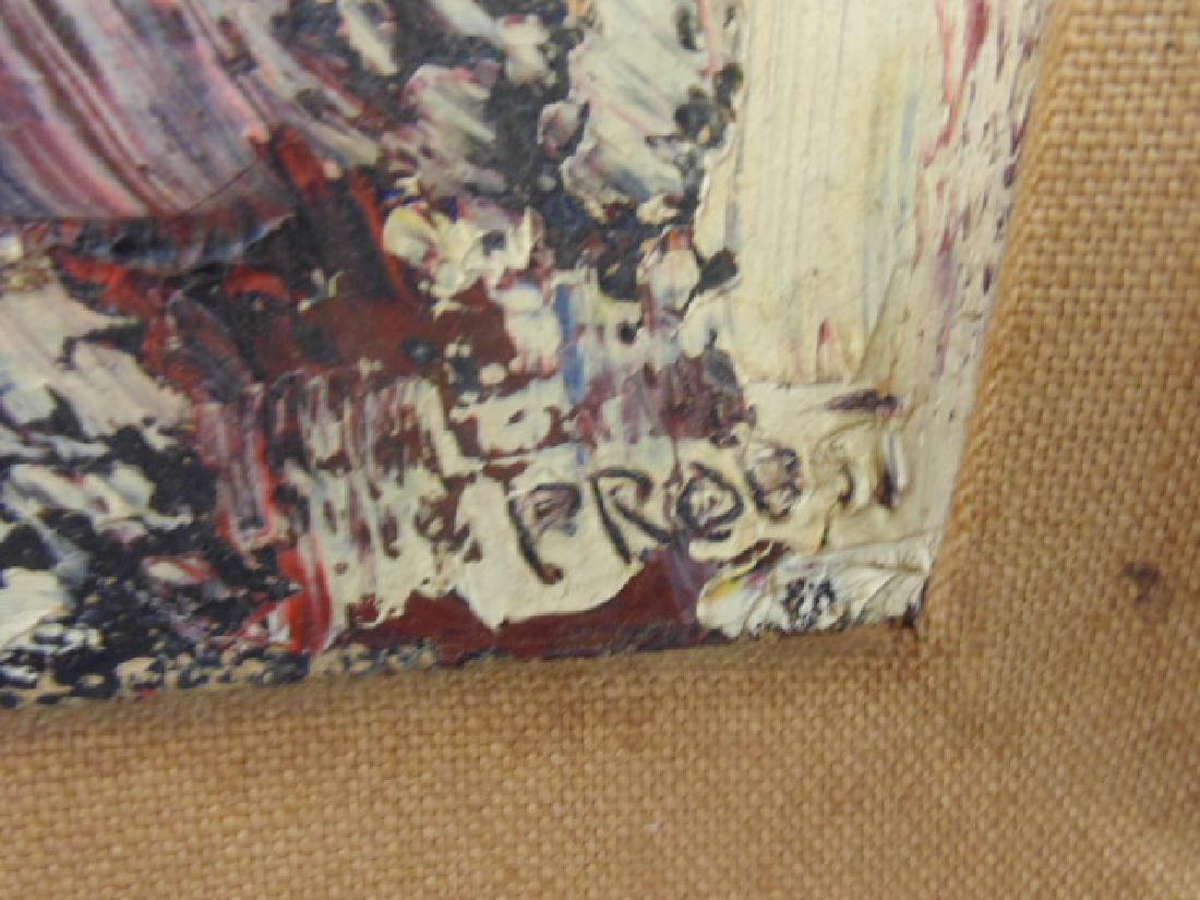 "Painting, ""Black Christ-Head"",  Joachim Probst, 1957 - 3"