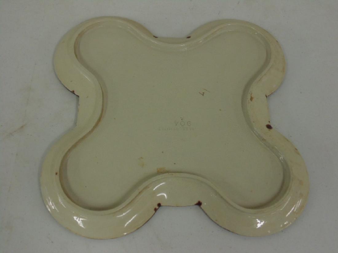 Sarreguemines Majolica serving plate - 4